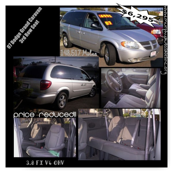 2007 Dodge Grand Caravan - $6,295 ReDuCeD!!