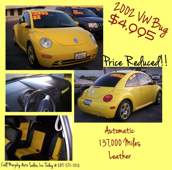 2002 VW Bug - $4,995 ReDuCeD!!