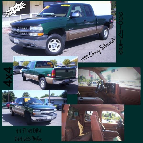 1999 Chevrolet Silverado - $6,595