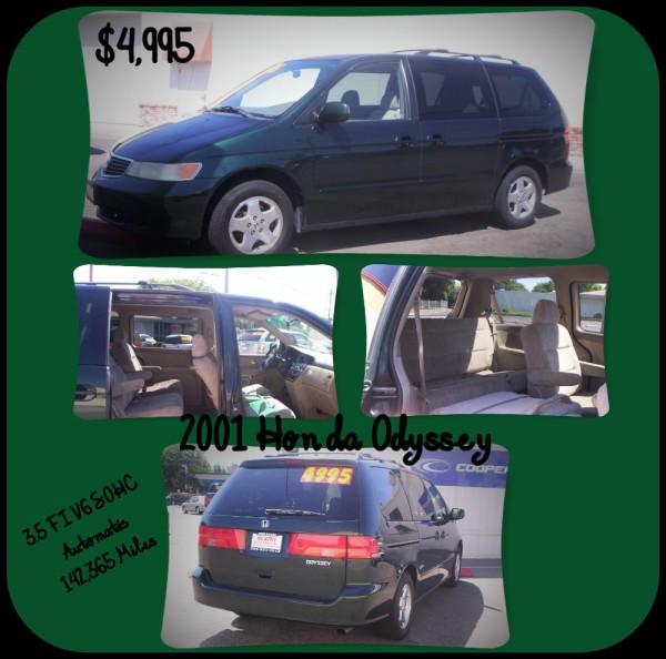 2001 Honda Odyssey - $4,995