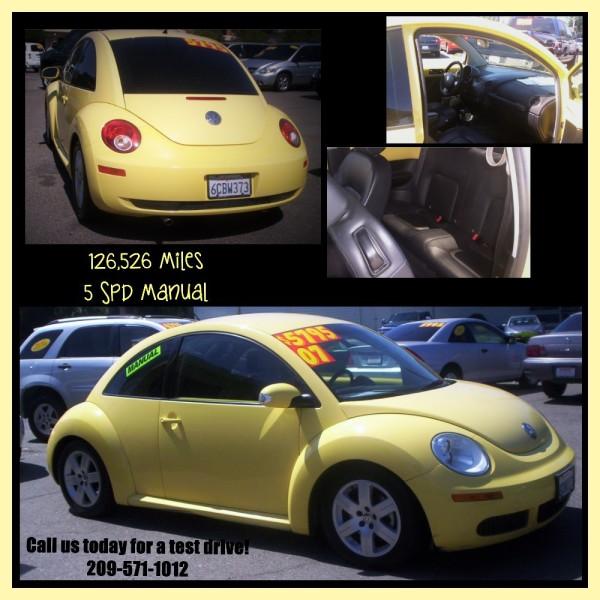 2007 VW Bug - $5,795