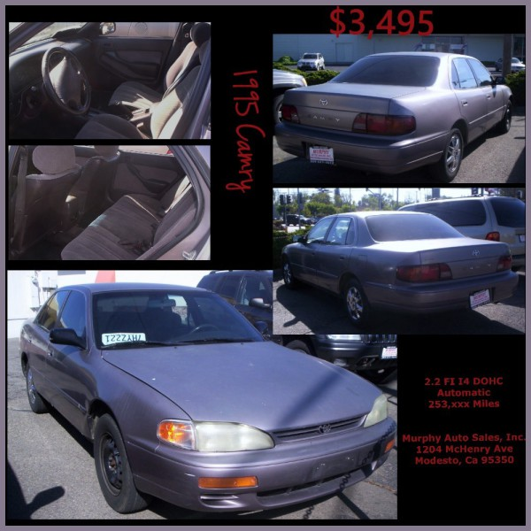 1995 Toyota Camry DX - $3,495
