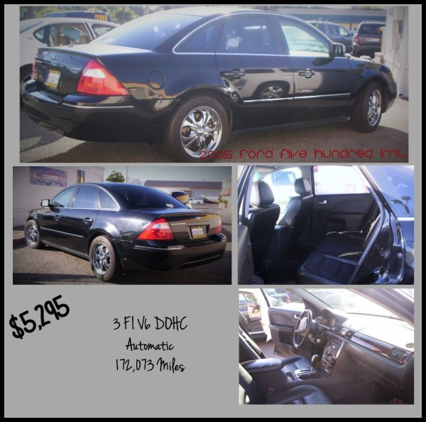 2005 Ford Five Hundred - $5,295