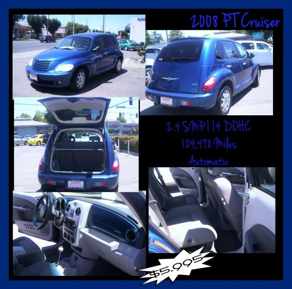 2008 Chrysler PT Cruiser - $5,995