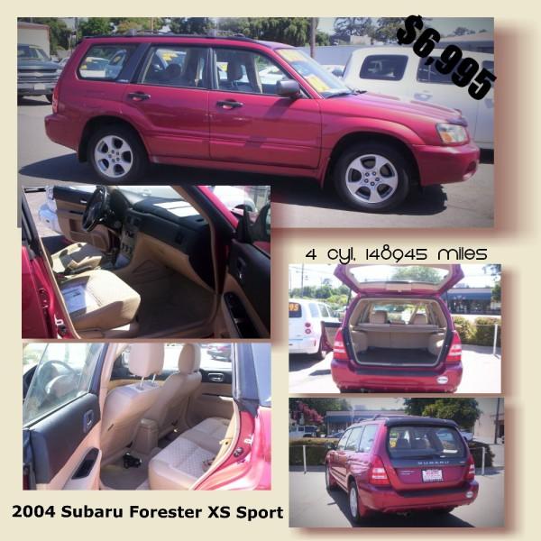 2004 Subaru Forester Sport - $6,995