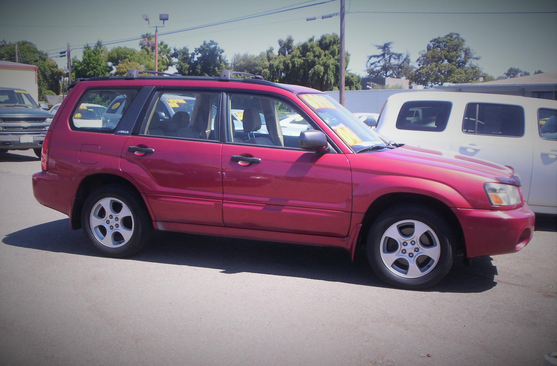 2004 Subaru Forester - $6,995