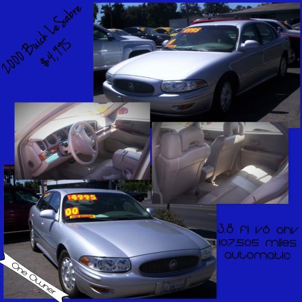 2000 Buick LeSabre - $4,995