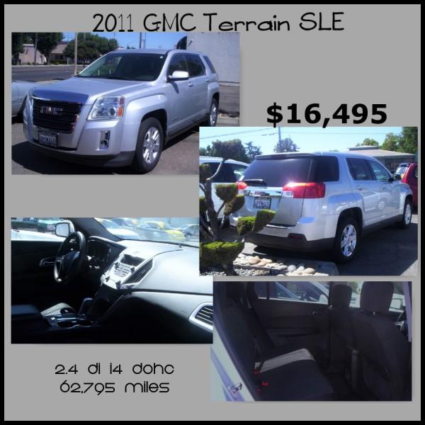 2011 GMC Terrain SLE - $16,495