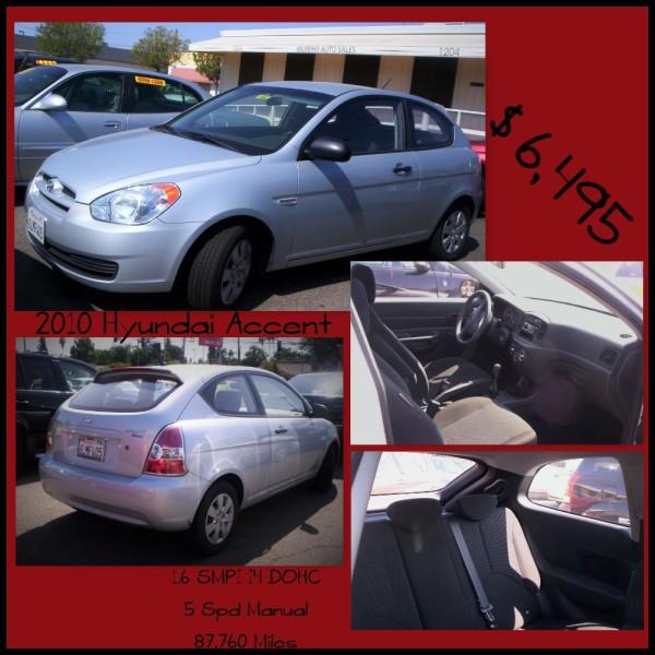 2010 Hyundai Accent - $6,495