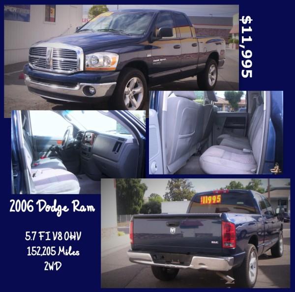 2006 Dodge Ram - $11,995