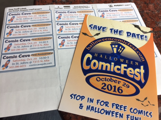 Halloween ComicFest is coming to St. Johns!