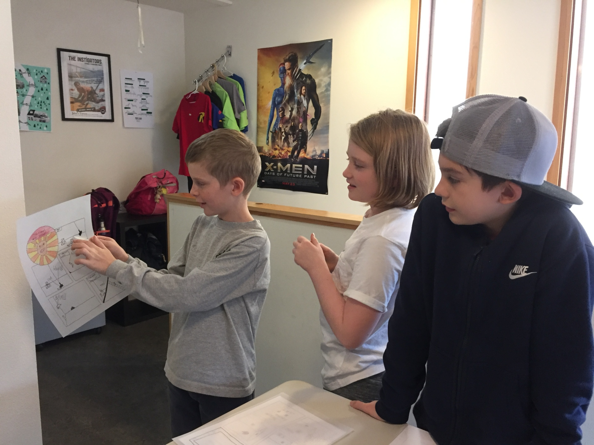 Exploring Comics Class 2016!