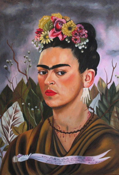 Self-Portrait, Frida Kahlo