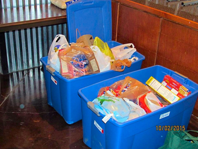 Bowling with a Purpose, Greenhouse Ministries Food Drive