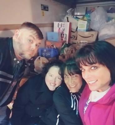 ChiveOn Murfreesboro's Members Helping Gatlinburg