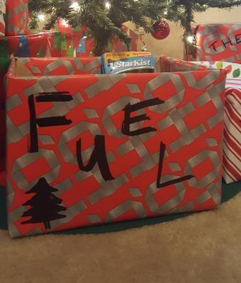 12 DAYS OF GIVING - FUEL FOOD DRIVE