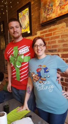 Mayday Brewery Ugly Sweater Christmas Party