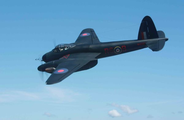Gary Ritchie's Mosquito night fighter