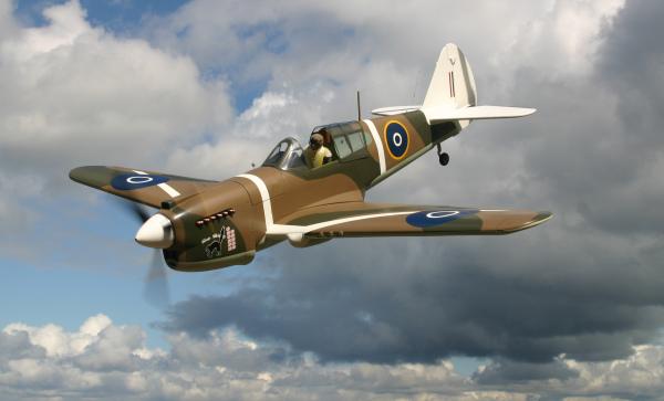 Gary Ritchie's P-40E Kittihawk