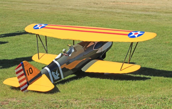 Paul FLeming's Curtiss Hawk ARF