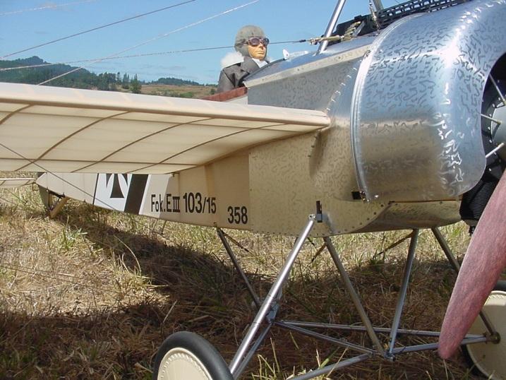 Randy Smithhisler's Fokker Eindecker