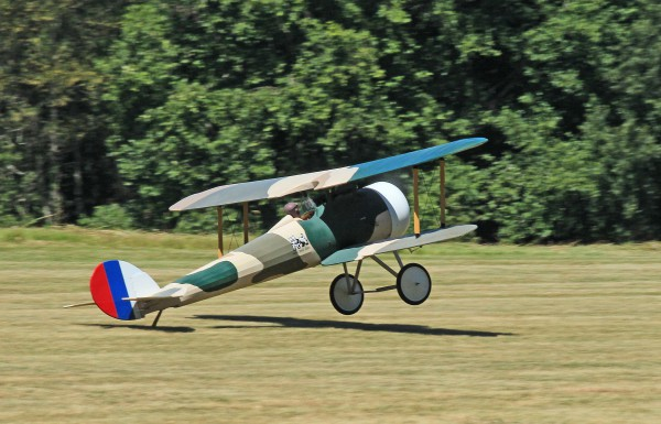 Paul FLeming's Nieuport 28