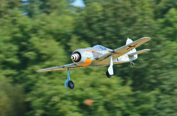 Ken Stuhr's Fw190 on approach