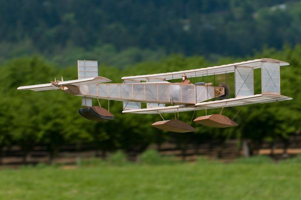 Ken Stuhr's Voisin Hydroaeroplane