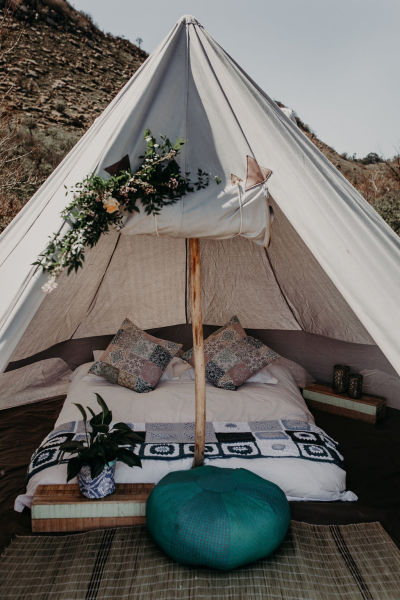 GLAMPING - ON SITE -
