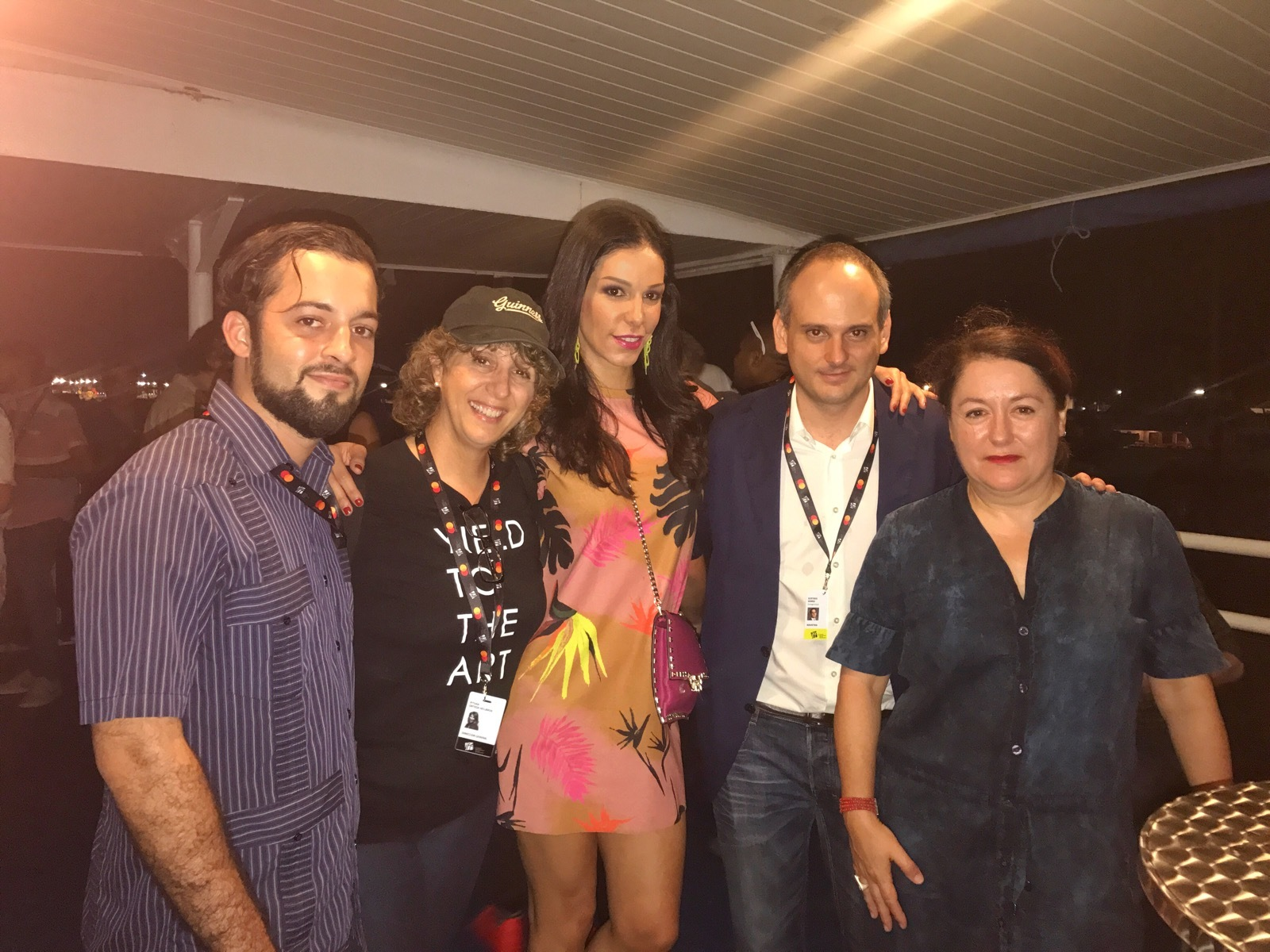 Directora del IFF Pituka Ortega, Porductor Venezolano Gustavo Gómez y Productora Española Helena Manrique