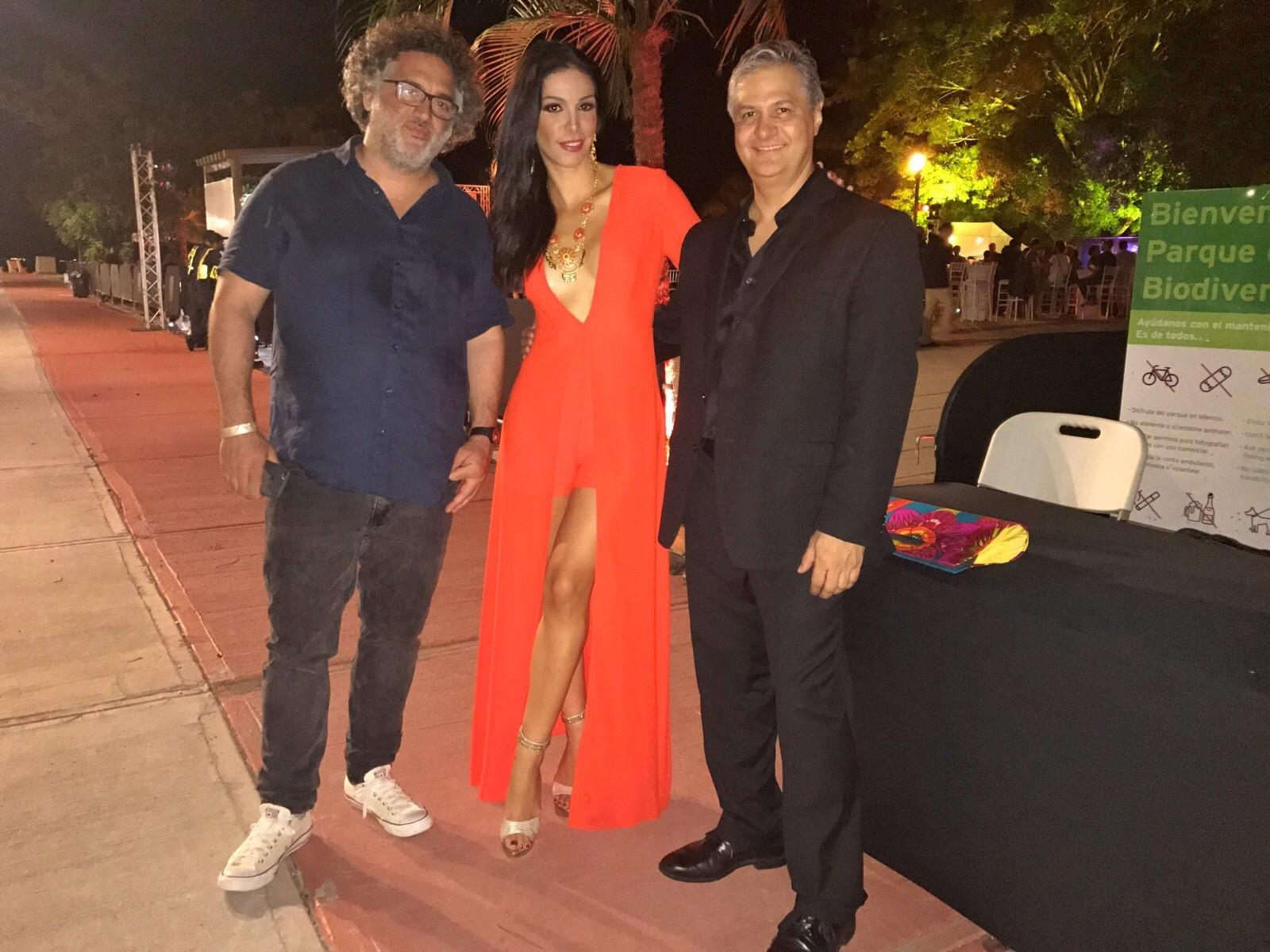 Directores Panameños Abner Benaim y Luis Pacheco