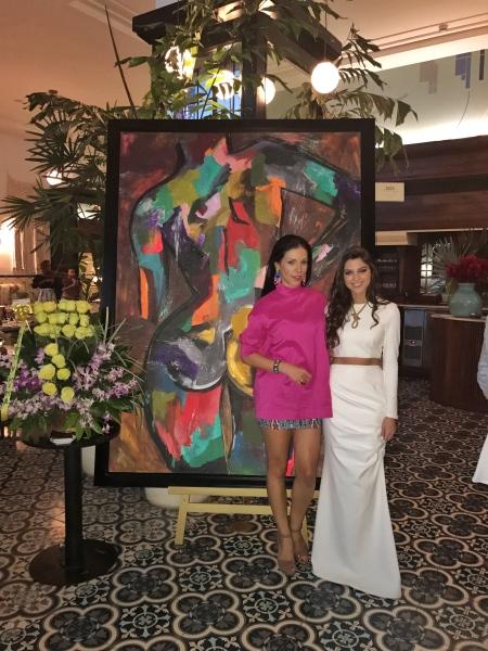 Pintora Panameña Nicole Rosania