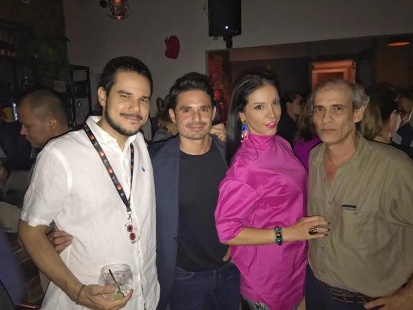 Director Panameño Aldo Valderrama, Actor Panameño Robin Durán, Director y Libretista Cubano Manolito Rodríguez