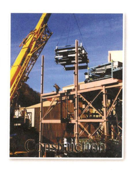Construction Services          WWMV Ventura Processing belt press installation