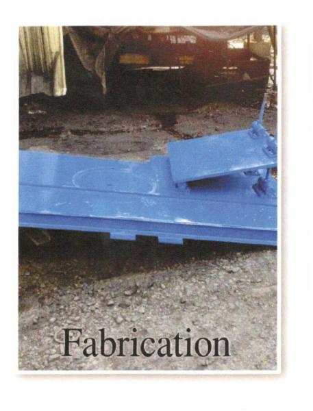 Fabrication Services      6/4 Warman pump and motor base Chess Processing