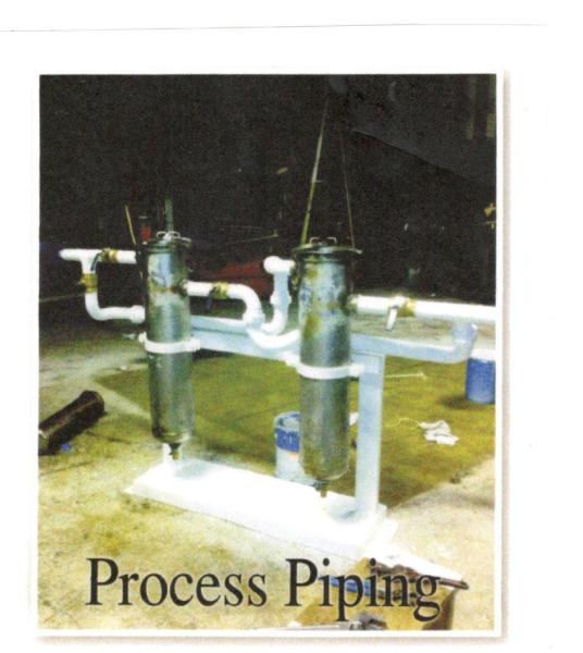 Process Piping Services      Gland water filtration system- Emerald Processing