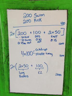 Swimming Workouts