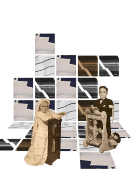 Composição Dinâmica, 2007.  30 x 40 cm. Fotomontagem / Photomontage
