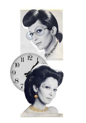 Tempo Absoluto. Tempo Relativo, 2007.  30 x 40 cm. Fotomontagem / Photomontage