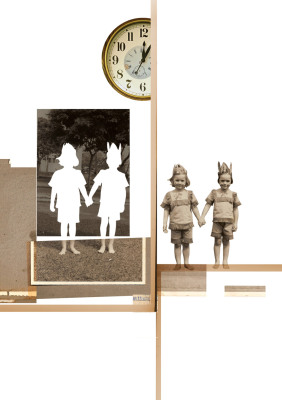 Dilatação Temporal, 2007.  30 x 40 cm. Fotomontagem / Photomontage