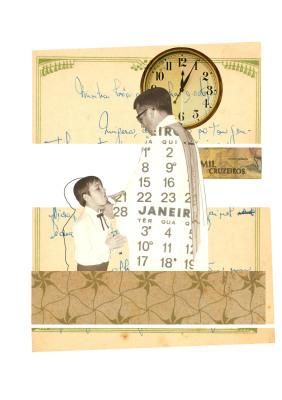 Tempo Indivisível, 2007.  30 x 40 cm. Fotomontagem / Photomontage