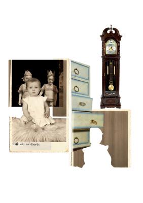 Pêndulo, 2007.  30 x 40 cm. Fotomontagem / Photomontage