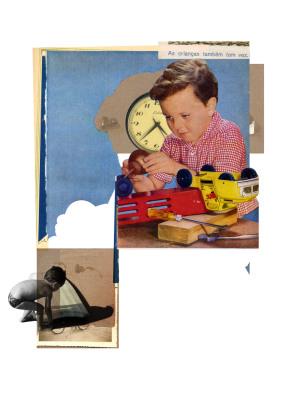 Tempo Manipulável, 2007.  30 x 40 cm. Fotomontagem / Photomontage