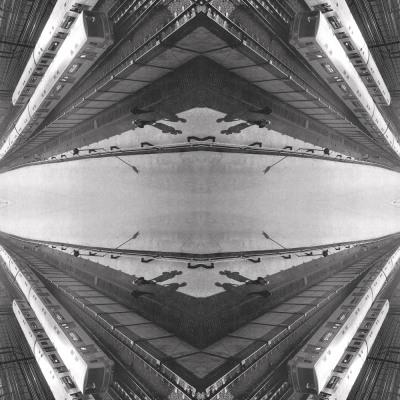Prisma da Barra, 2010. 80 x 80 cm. Fotomontagem / Photomontage