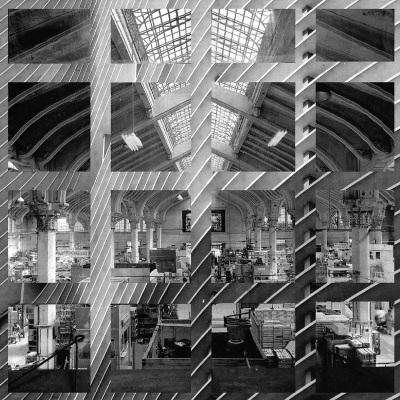 Ícones Face-a-Face, 2010. 80 x 80 cm. Fotomontagem / Photomontage
