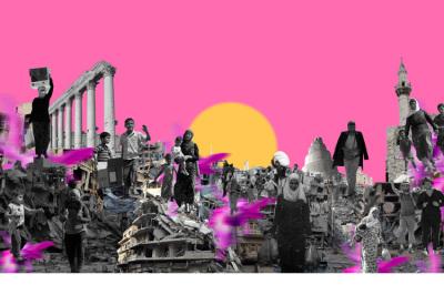 Somos Todos Síria, 2016. 80 x 50 cm. Fotomontagem / Photomontage