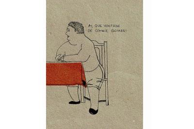 Cotó, 2011.  10 x 15 cm. Rascunho / Sketch