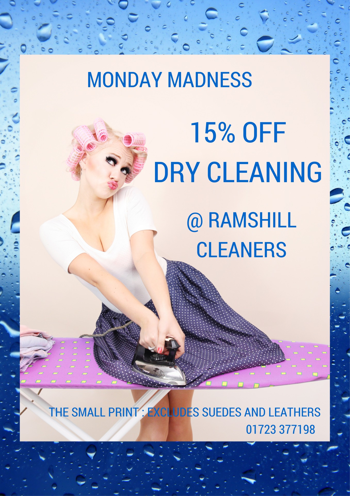 15% Off Dry Cleaning @ Ramshill Cleaners