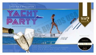 Champagne Yacht Party
