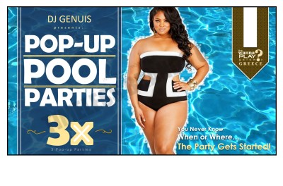 Pop-up Pool Party